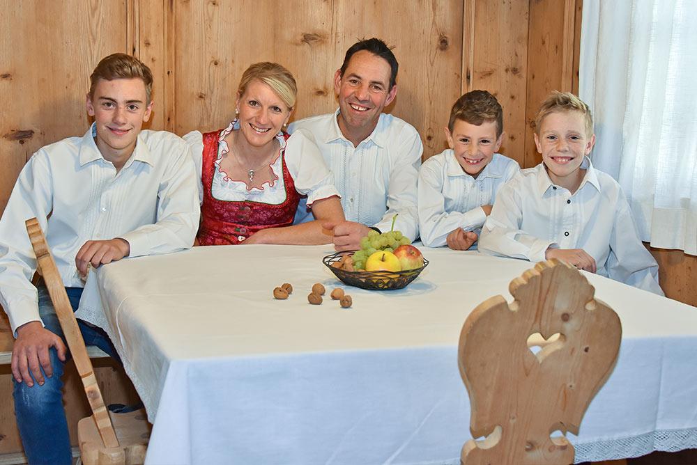 Bauernhofurlaub unter dem Schleern - Ferienwohnungen in Kastelruth